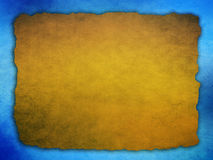 Abstract brown blue background Stock Images
