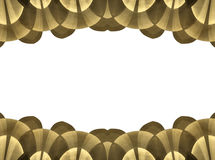 Abstract brown border frame Royalty Free Stock Photo