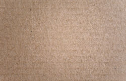 Cardboard texture brown Royalty Free Stock Image