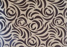 Abstract brown color pattern on linen natural texture stock photos