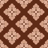 Abstract brown fabric pattern Royalty Free Stock Photo
