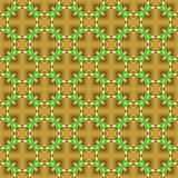 Abstract brown and green pattern. Texture background. Stock Image