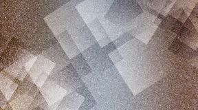 Abstract brown and grey background shaded striped pattern and blocks in diagonal lines with vintage blue brown and grey texture. Many uses for advertising stock illustration