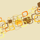 Abstract brown illustration. Vector Royalty Free Stock Photography