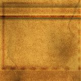Abstract Brown Leather Background Stock Photo