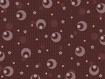 abstract brown pattern illustration Stock Images