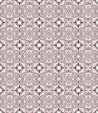 Abstract brown pattern seamless on lilac backgroun Royalty Free Stock Photography