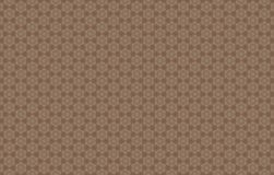 Abstract brown pattern. Abstract six sided stars with honeycombs or hexagons inside them. Variations of brown. Background pattern Stock Images