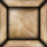 Abstract brown plaster room Royalty Free Stock Photography