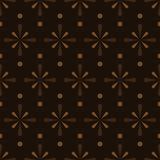 Abstract brown seamless pattern eps10 Royalty Free Stock Photo
