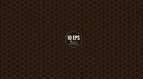 Abstract brown triangular pattern BG Royalty Free Stock Images