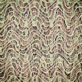 Abstract brown wave pattern vintage color wallpaper backgroun. Abstract brown wave pattern vintage color wallpaper design abstarct background stock illustration