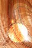Abstract brown wavy background Royalty Free Stock Photo