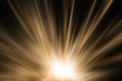 Abstract bruin gouden licht stock afbeeldingen