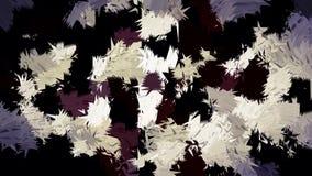 Abstract bruin wit het patroonbehang van de room zwart kleur stock afbeelding