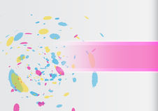 Abstract brush cover Vector Background Stock Photos