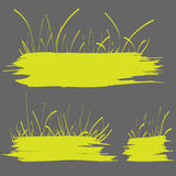 Green grass banner Royalty Free Stock Photos