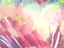 Abstract brush painting background. Royalty Free Stock Photos