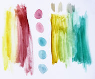 Abstract Brush Strokes Royalty Free Stock Images