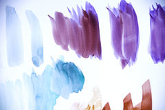Abstract Brush Strokes Royalty Free Stock Photography