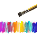 Abstract brush watercolor. Abstract hand painted watercolor background Royalty Free Stock Image