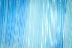 Abstract cyan hand painted background. Abstract brushed cyan hand painted acrylic background, creative abstract hand painted background, close-up fragment of Royalty Free Stock Photography