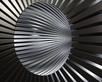 Abstract brushed metal technological background Royalty Free Stock Photo