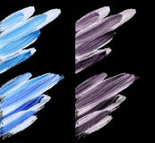 Abstract brushstroke background in winter color Royalty Free Stock Image