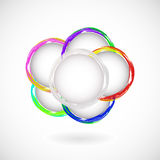 Abstract bubble. Royalty Free Stock Images