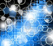 Abstract bubble background Royalty Free Stock Photos