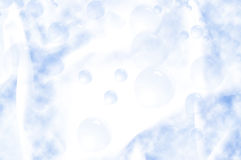 Abstract bubble background. Abstract blur bubble and rain background Stock Image