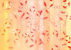 Abstract bubble background Royalty Free Stock Photo