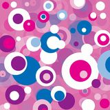 Abstract bubble background Stock Images