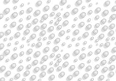 Grey abstract bubble 3d Seamless background Royalty Free Stock Photography