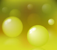 Abstract Bubbles. (vector abstract background Stock Photo