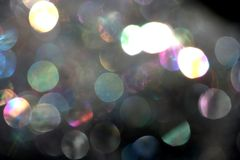 Abstract Bubbles. Abstract view of shiny bubbles of soap and water Stock Photo