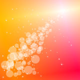 Abstract bubbles background Royalty Free Stock Images