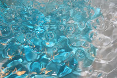 Abstract bubbles blue Royalty Free Stock Photo