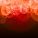 Abstract bubbles red  background Royalty Free Stock Photo