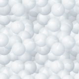 Abstract bubbles vector seamless pattern Royalty Free Stock Photo
