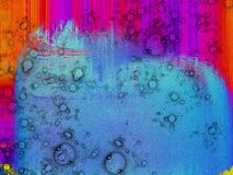Abstract bubbly texture with noise effect Stock Photos