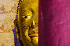 Abstract Buddha statue Royalty Free Stock Image