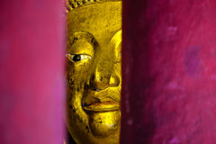 Abstract Buddha statue Royalty Free Stock Photos