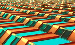 Abstract building Stock Image
