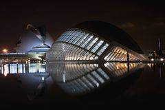 Abstract building. An abstract an modern building in valencia Stock Photo