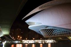 Abstract building. An abstract an modern building in valencia Stock Photos