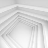 Abstract Building Construction. Minimal Geometric Wallpaper. Modern Architecture Background. Abstract Building Construction. Minimal Geometric Wallpaper Royalty Free Stock Photo