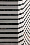 Abstract building facade, in Singapore. Abstract building facade, in Singapore Royalty Free Stock Photo