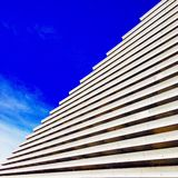 Abstract Building lines Royalty Free Stock Photography