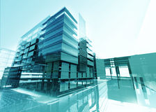 Abstract building Royalty Free Stock Photos